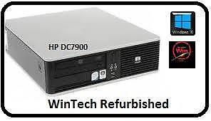 HP Desktop DC7900 Dual Core Computer Kirribilli North Sydney Area Preview