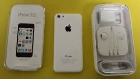 apple iphone 5c white ee virgin t mobile orange can unlock to any sim 32 gig gb