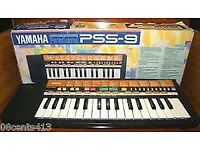Yamaha PSS 9 keyboard synthesiser