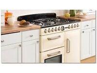 Leisure Range Cooker, Dual Fuel, 90cm Width, Cream