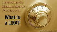 RRSP LIRA PENSION UNLOCKING