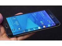 Samsung Galaxy Note Edge 32bg Black mint condition unlocked