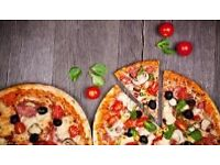 Delivery drivers waitress and kitchen porter