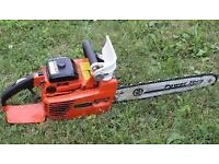 echo chain saw £100 may swap for good strimmer or petrol lawnmower