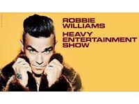 Robbie Williams Tickets (x2) - Aviva Stadium, Dublin - Saturday 17th June 2017.