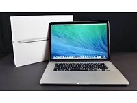 "Brand New,lATEST Apple MacBook Pro Retina Display 15.4"" 2.2GHz Quad Core i7 16GB 256GB + 1 yr wrty"