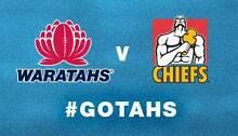 BARGAIN 2x Tickets to NSW Waratahs V Chiefs @ Allianz- TONIGHT Pyrmont Inner Sydney Preview
