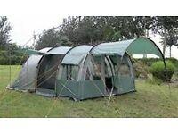 A Royal Avignon 6 berth tent & Royal WIndbreak