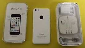Apple iPhone 5c white can unlocked open any network 02 o2 giff gaff tesco