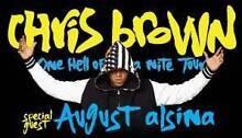 1 x CHRIS BROWN ONE HELL OF A NITE SYDNEY TICKET F.A.M.E. Campsie Canterbury Area Preview