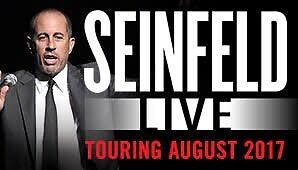 Wanted: 2x Seinfeld tickets, Adelaide show - face value Adelaide CBD Adelaide City Preview
