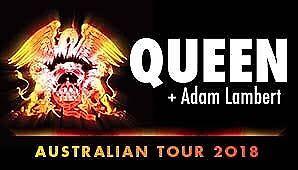 2 x Concert Tickets - Queen + Adam Lambert