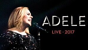 "Adele Live 2017 – 2 x ""A"" Reserve Premium Tickets ($400 ea) Sydney City Inner Sydney Preview"