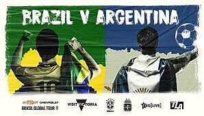 CHEVROLET BRAZIL GLOBAL TOUR - BRAZIL VS ARGENTINA Silver tickets Cherrybrook Hornsby Area Preview