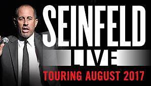 JERRY SEINFELD TICKET ADELAIDE 5 August 2017 Sydney City Inner Sydney Preview