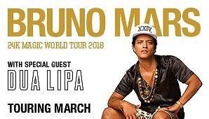 2 Bruno Mars tickets Sat 17th Jannali Sutherland Area Preview