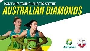 2016 Netball Quad Series Gold Tickets SOLD OUT! Brookfield Melton Area Preview
