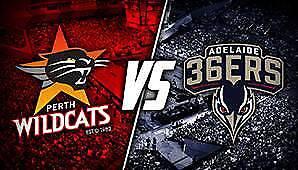 Perth Wildcats vs Adelaide 36's  Fri 8 Dec 6:30pm