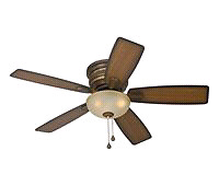 2 matching ceiling fans