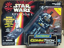 1998 Star Wars Episode I Electronic Commtech Reader