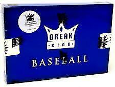 2021 Leaf Break King Stars & Legends Baseball Factory Sealed 3 Box Case