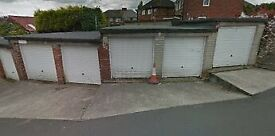 Single lock up garage for rent in Fox Lane, Sheffield S12 4WR £50 pcm. Available now