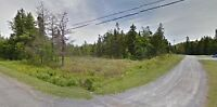 3/4 Acre Approved building lot on Base Rd