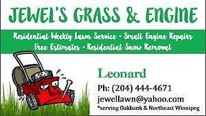 Grass Cutting in EK, NK, Elmwood, Transcona & Oakbank