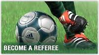 Become a soccer referee !