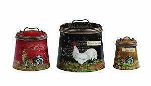 Country Kitchen Canisters Ebay