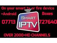 I.P.T.V BEST IN UK WITH 7 DAY CATCHUP &200+HD CHANNELS