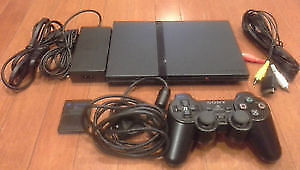 Playstation 2 (PS2) Slim Console + Games - Tested