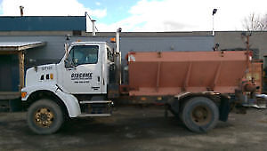 Sterling Sand Truck and Dump Box
