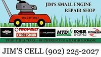 jims small engine repair 902 225 2027