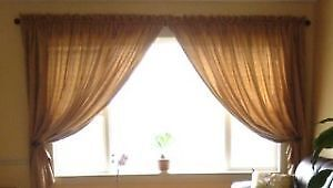 Large living room curtain