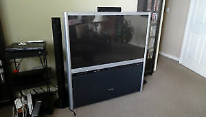 51 inch Toshiba TV   (Built in Surround Speakers) on wheels