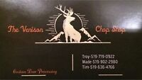 Deer Hunting? Venison Butchers