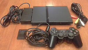 Console Playstation 2 (PS2)  Slim & Fat & Jeux / Games - Tester