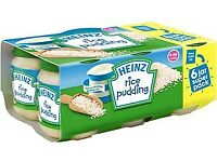 Heinz Baby desert Jars 6pk available for export (Wholesale Only) £2.10 each
