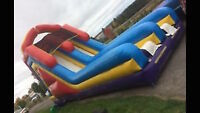 Large Inflatable Double Slide Rental