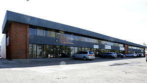 Warehouse and office space in a well maintained building