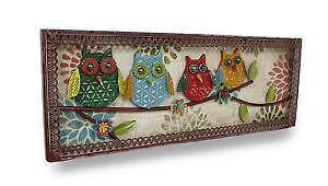 Metal Owl Wall Decor