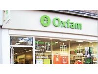Volunteering opportunities at our Oxfam Newcastle-under-Lyme store