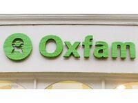 Oxfam Leominster urgently requires volunteers to help in store
