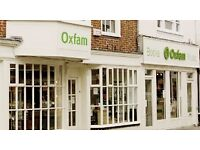 Come and join our fantastic team in Oxfam, Salisbury!