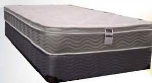 Brand new euro top mattress and box $298 FREE DELIVERY+SETUP