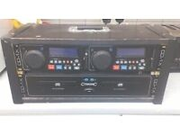 Citronic double cd player +400 Karaoke cds