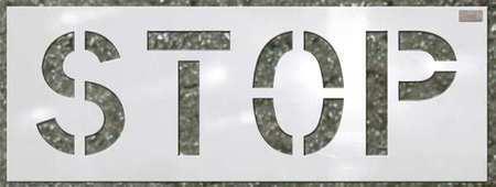 C.H. Hanson 70061 Stencil,Stop,12 X 9 In.