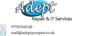 Adept Repair - Quality iPhone Repairs in Cardiff - 12 Month Warranty - Screens Kept in Stock