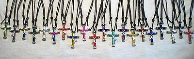 Cancer/Disorder/Disease Awareness Horseshoe Nail Cross Necklace or Key Ring! ](Horseshoe Nail Cross Necklace)